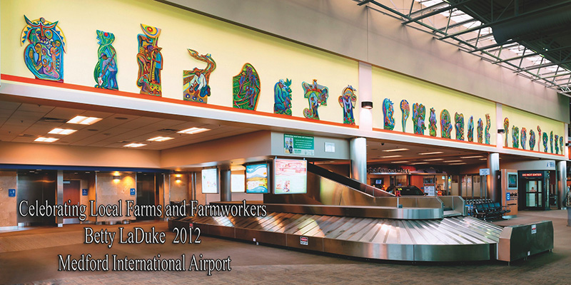Medford International Airport: installation view